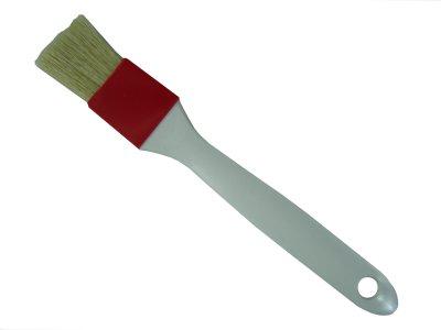 Kuchenpinsel 25 mm rot-beige