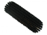Kleiderbürste reine schwarz Borste  Holzkörper braun lackiert